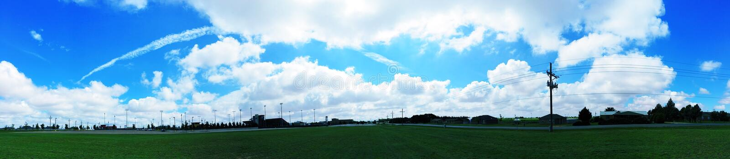 Beautiful clouds stock photography
