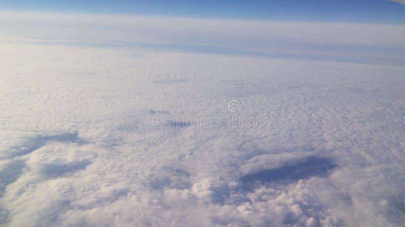 Beautiful clouds & sky & horizont royalty free stock photography