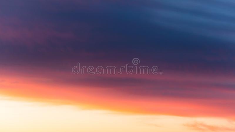 Beautiful clouds at sunset as an abstract background stock images
