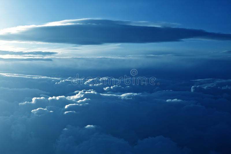 Download Beautiful Cloudscape stock photo. Image of hope, sunbeam - 27373592