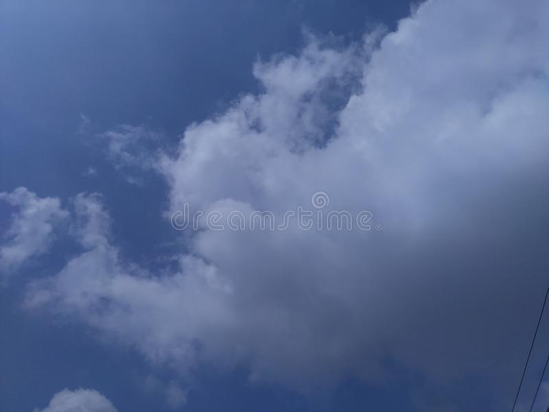 This is the beautiful cloudy sky. Atmosphere, heaven, envoriment, background, asia, india, maharashtra, object, abstract, good, nice, rural, nature, natural stock images