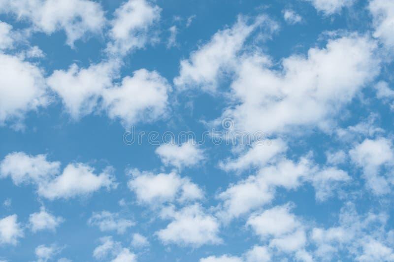 Beautiful cloudy sky royalty free stock photo