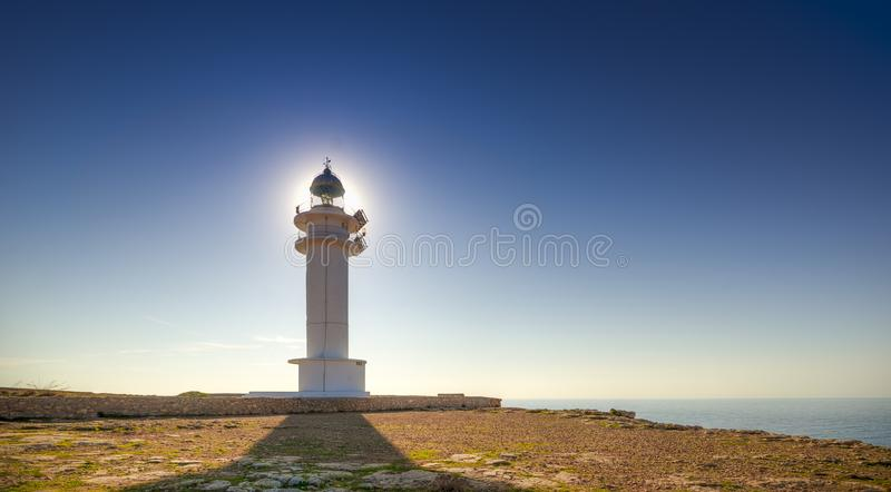 Barbaria cape lighthouse stock photography