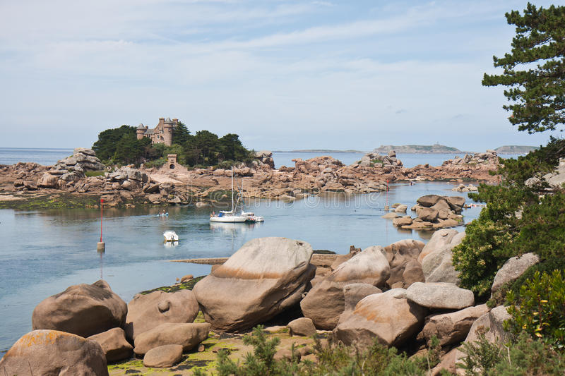 Download Beautiful Coast 'Granite Rose'of Brittany Stock Image - Image of architecture, color: 16413973