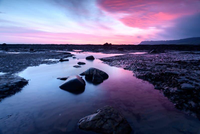 Beautiful Coastal Sunrise royalty free stock photography