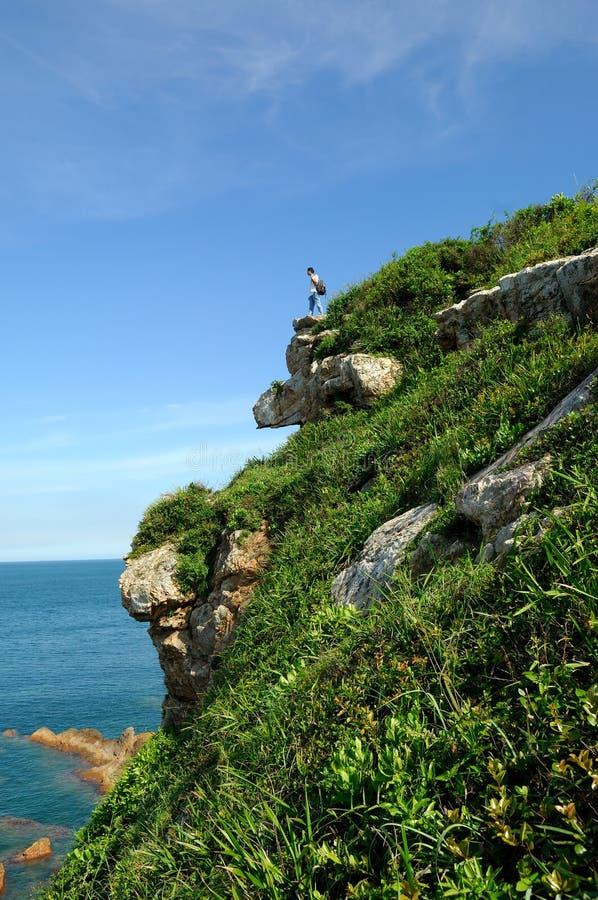 Beautiful coastline royalty free stock images