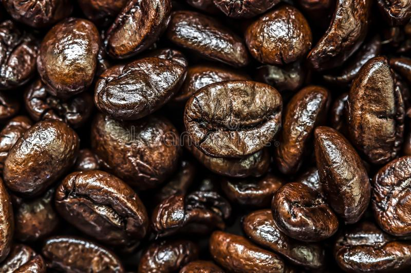 Coffee beans.Before grinding. stock photos