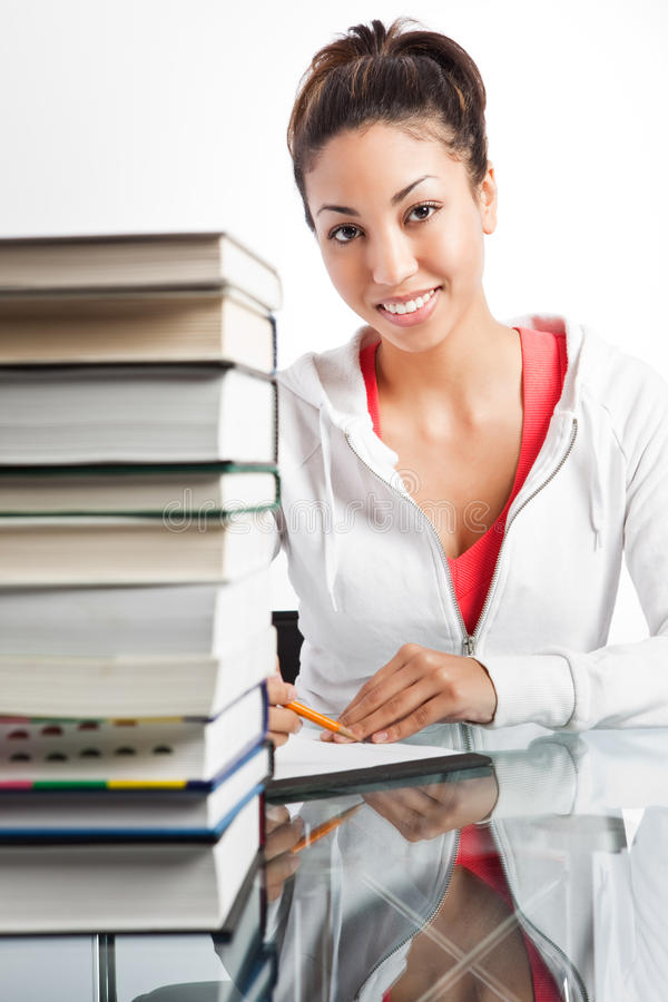 Download Beautiful College Student Stock Photography - Image: 12844282