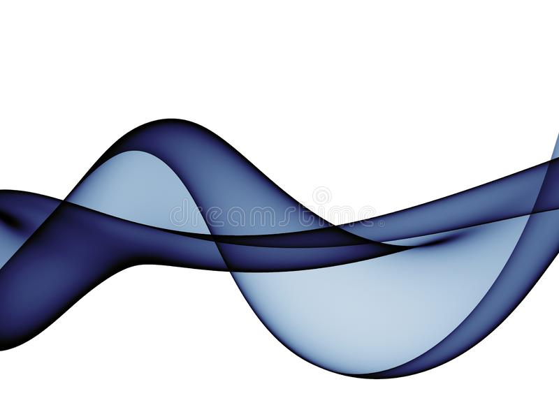 Color abstract waves design. Beautiful Color abstract waves design stock illustration