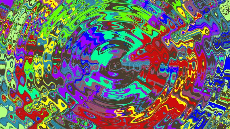Inspirational scribbles in many bright colors 4. Beautiful color strokes that so make us excited in many bright colors that cross each other royalty free stock image