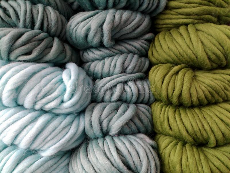 Beautiful colored wools ball. Wool texture. Yarn for knitting. Skeins of yarn. Natural material for knitting, crocheting, creative. Idea. Abstract diy royalty free stock images