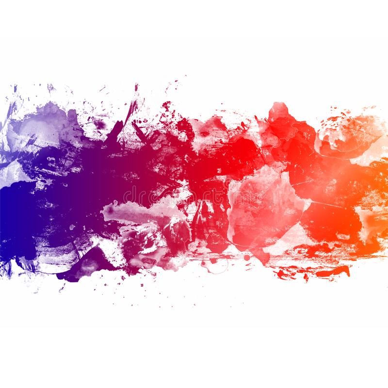 Colorful Abstract Artistic Watercolor Paint Background stock photos