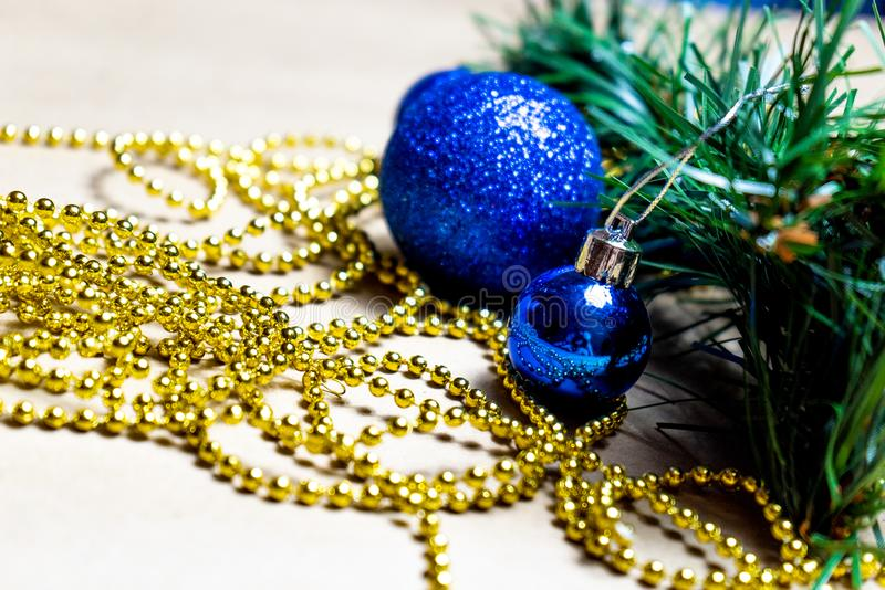 Christmas decoration on a neutral background royalty free stock photo