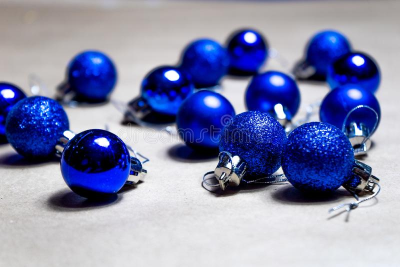 Christmas decoration on a neutral background stock photography