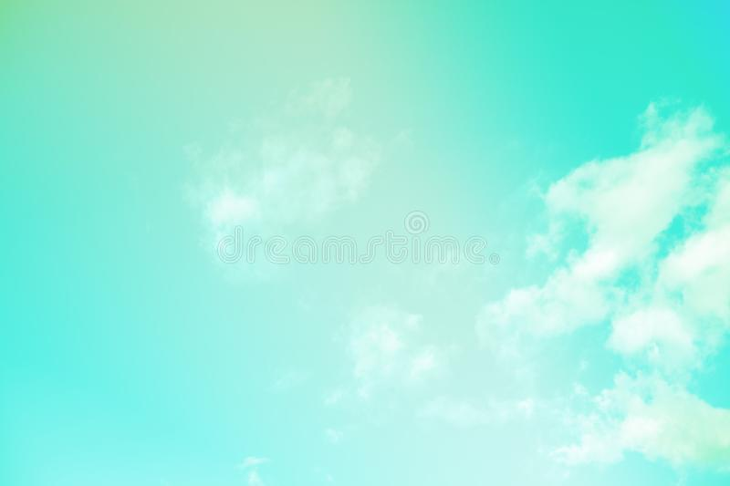 Beautiful colorful cloud and sky pastel color. Background for design royalty free stock photography
