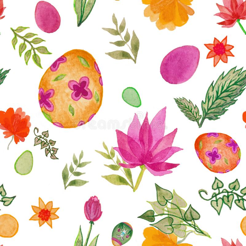 A seamless pattern for the Easter design royalty free stock photo