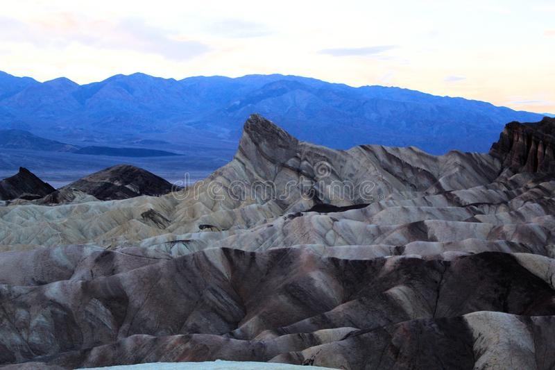 Death valley national park. Beautiful colorful landscape of death valley national park royalty free stock photography
