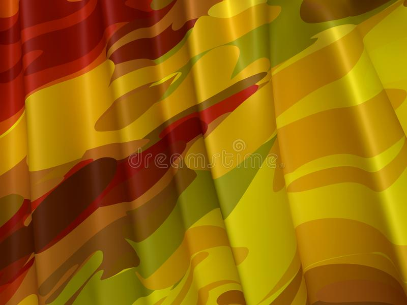 Abstract Texture. Colorful Silk royalty free illustration