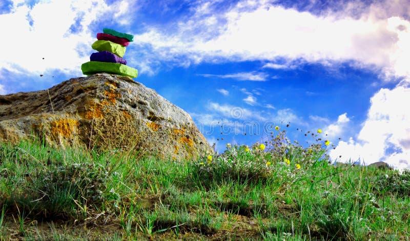 Colourful Landscape. stock photos