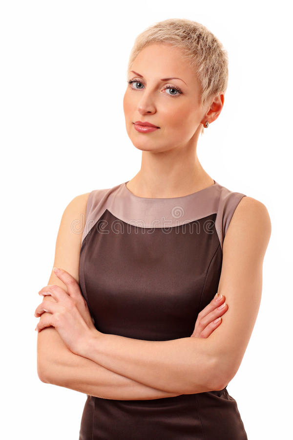 Download Beautiful confident woman stock photo. Image of young - 23984806
