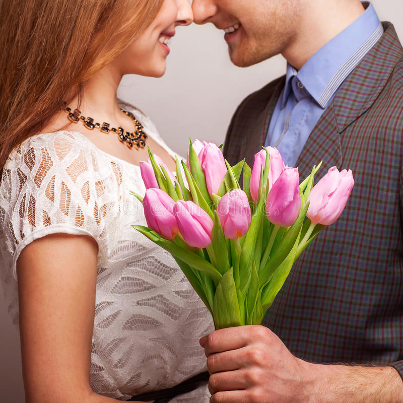 Beautiful couple in love royalty free stock images