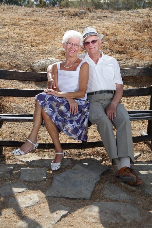beautiful couple senior στοκ φωτογραφία με δικαίωμα ελεύθερης χρήσης