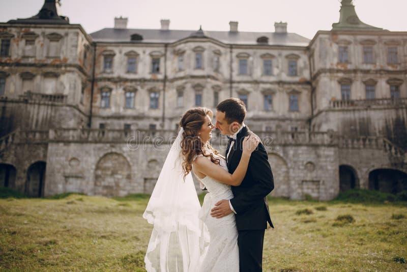 Beautiful couple wedding royalty free stock photo