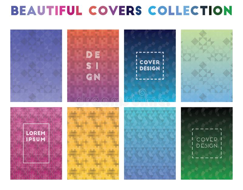 Beautiful Covers Collection. royalty free illustration