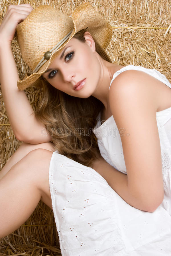Download Beautiful Cowgirl stock photo. Image of young, wearing - 10767620
