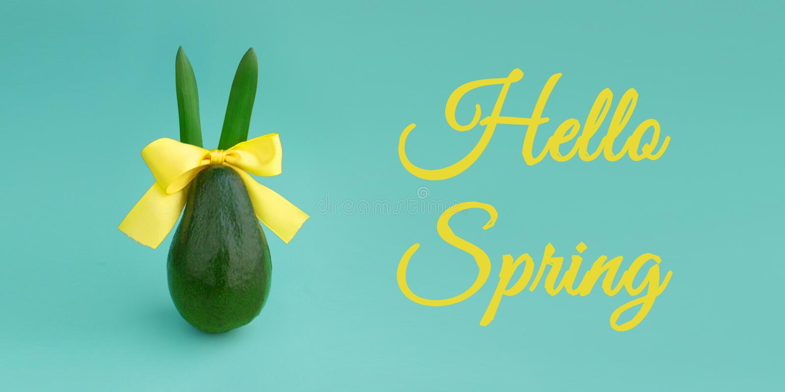 Happy Easter composition card concept with space for text royalty free stock images