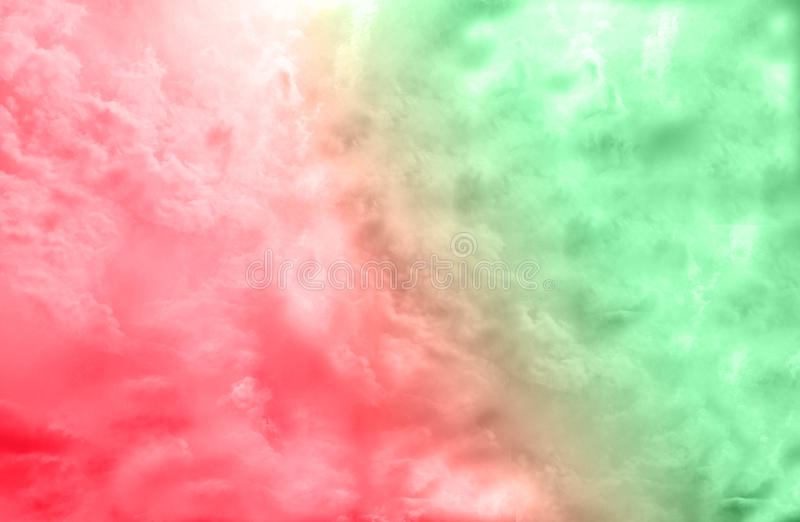 Beautiful creative double color Burst, red and green / abstract background royalty free stock photos