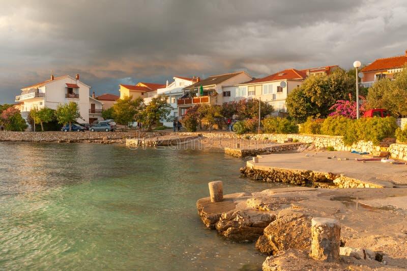 Beautiful Croatian coast royalty free stock image