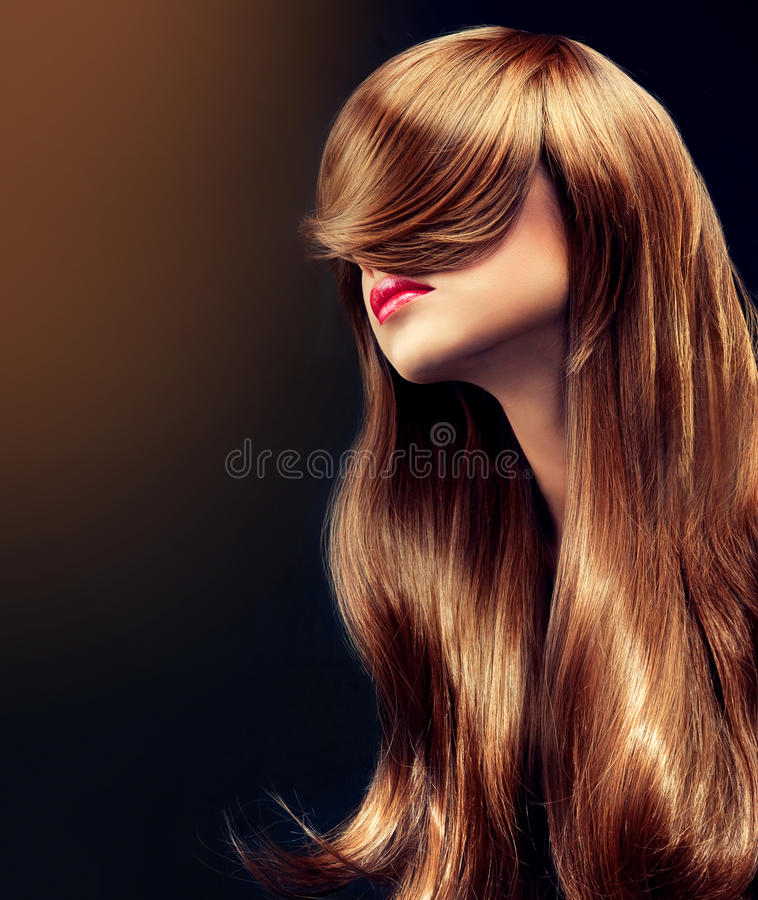 Beautiful curl stock images