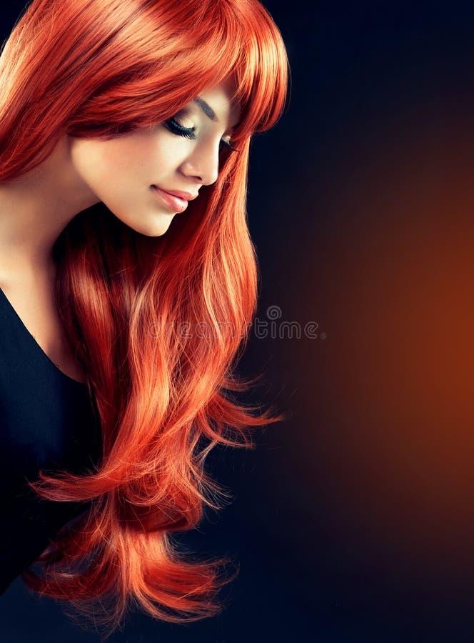 Beautiful curls stock photo