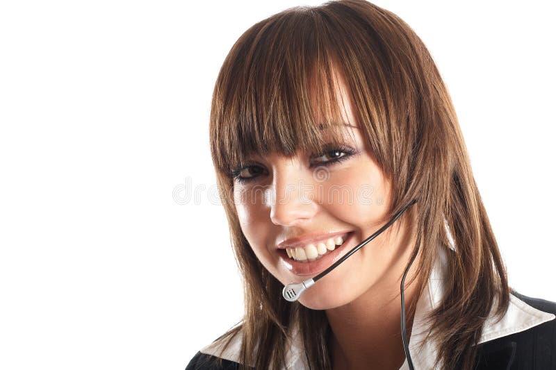 Download Beautiful Customer Representative Stock Photo - Image: 2113296