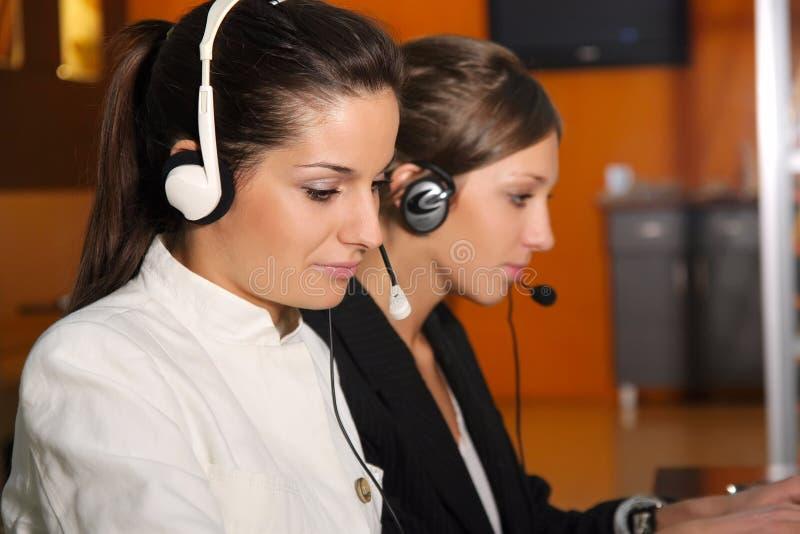 Beautiful customer service stock photos