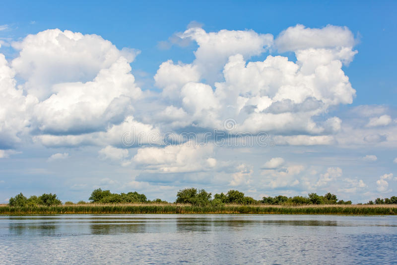 Beautiful Danube Delta royalty free stock images
