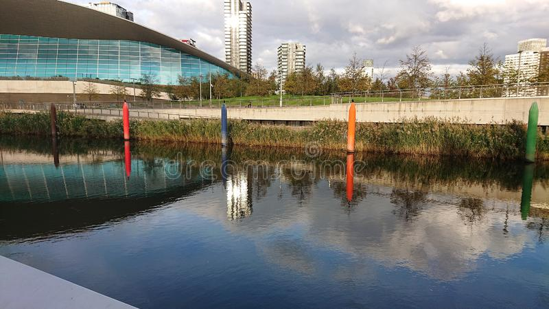 Beautiful day at Stratford. East, london royalty free stock images