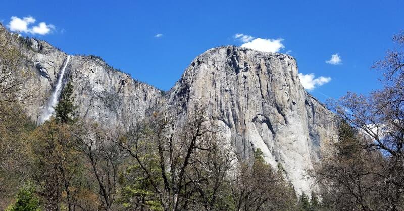 Beautiful day at Yosemite national park. Beautiful day yosemite national park royalty free stock photo