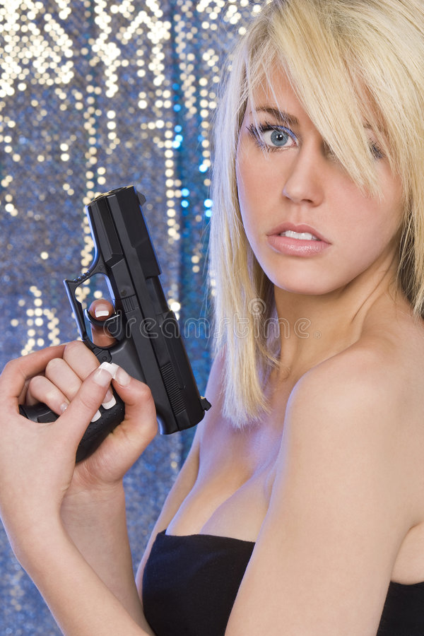 Download Beautiful and Deadly stock photo. Image of firearm, shot - 7654084