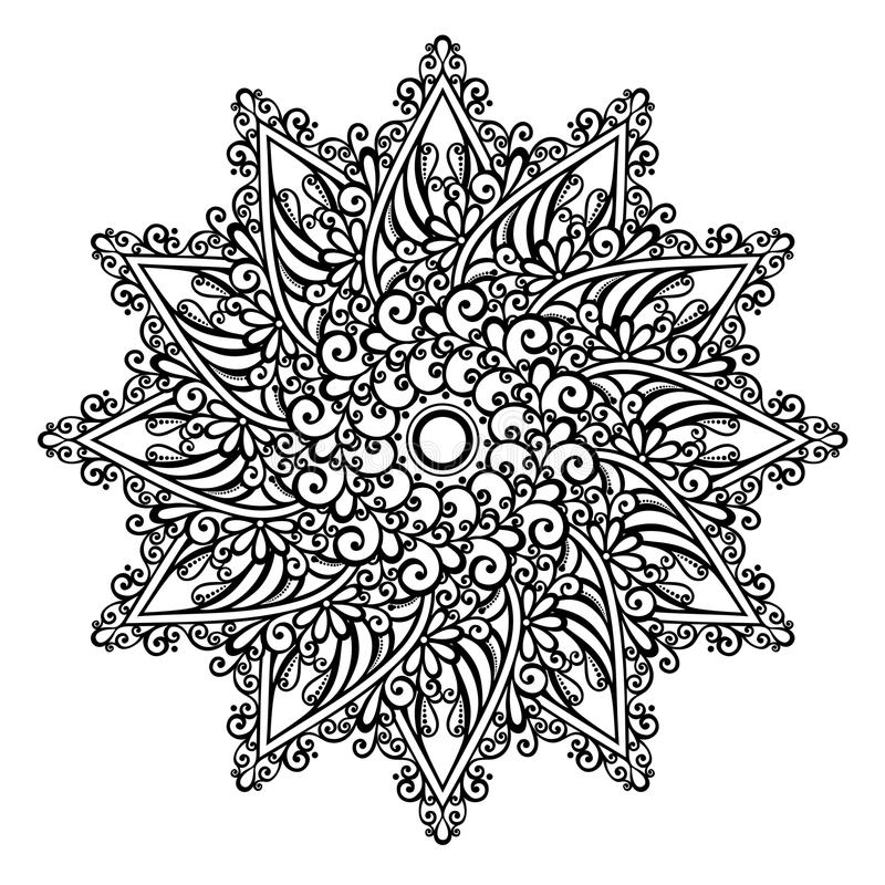 Beautiful Deco Mandala (Vector) vector illustration