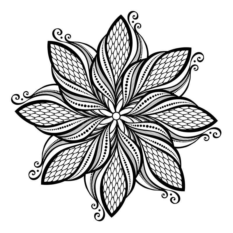 Free Beautiful Deco Mandala &x28;Vector&x29; Royalty Free Stock Photo - 35478965