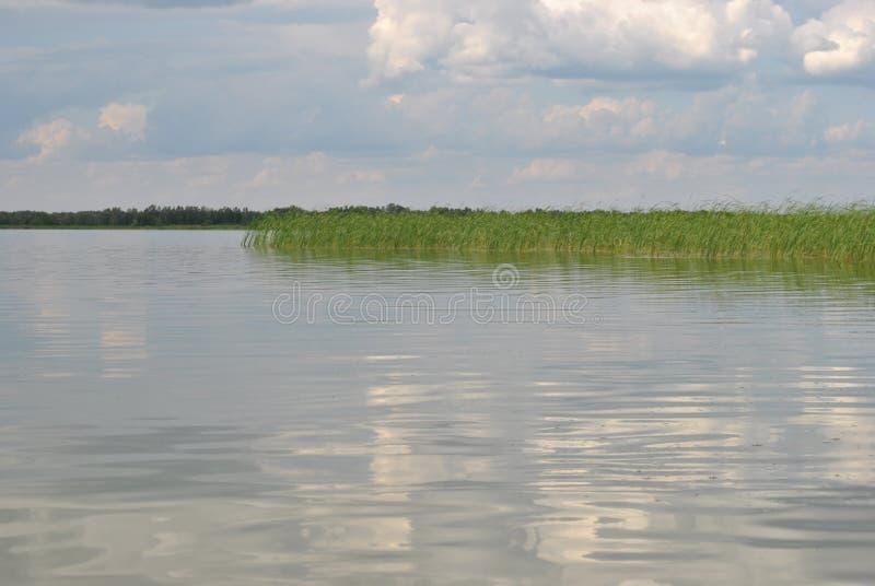 Beautiful and deep Russian lake stock photos