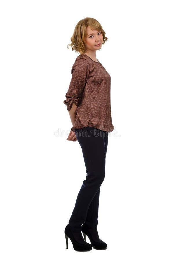 Download Beautiful Demure Young Blonde Woman Stock Image - Image of human, cute: 28213403