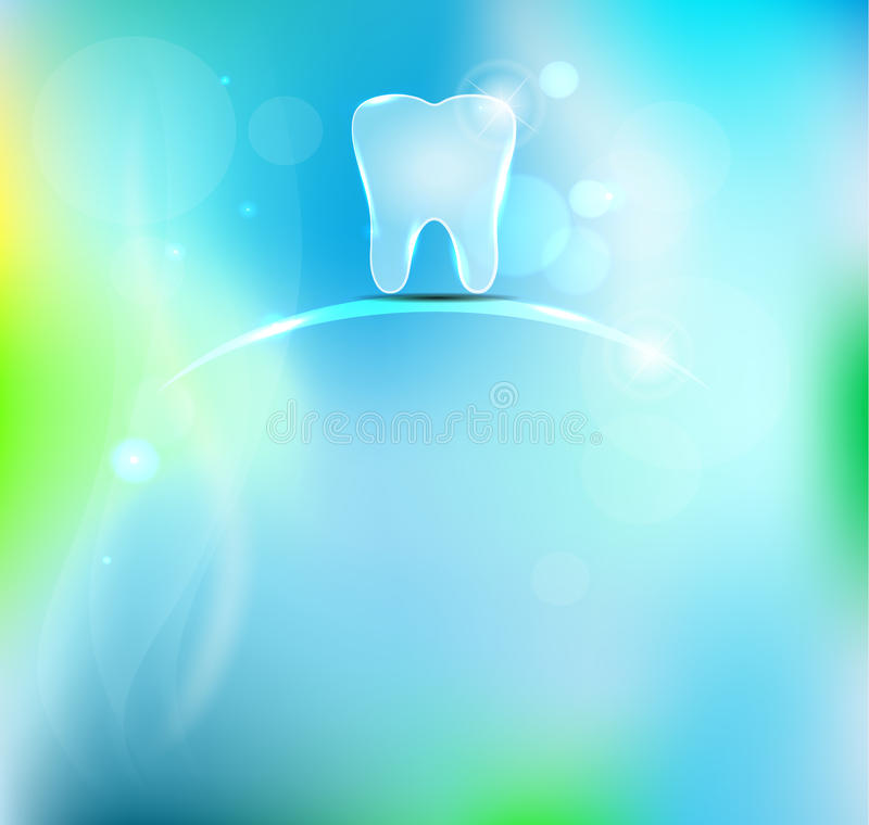 Beautiful dental background stock illustration