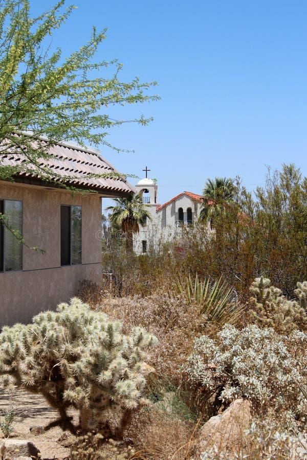 Beautiful Desert Church Stock Photos
