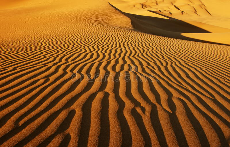 Beautiful desert. Landscape, desttop backgroup stock photography