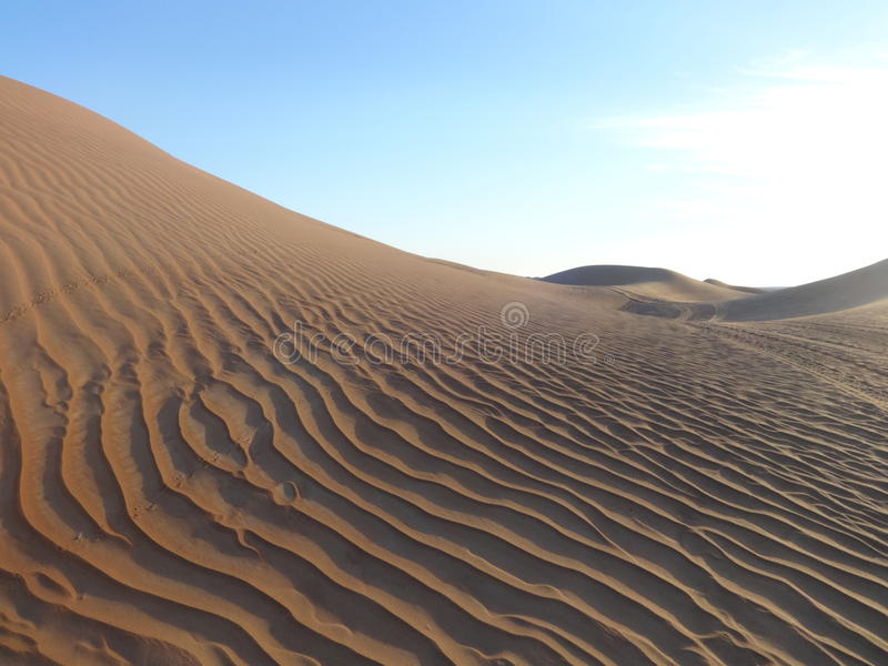 A beautiful Desert royalty free stock photography