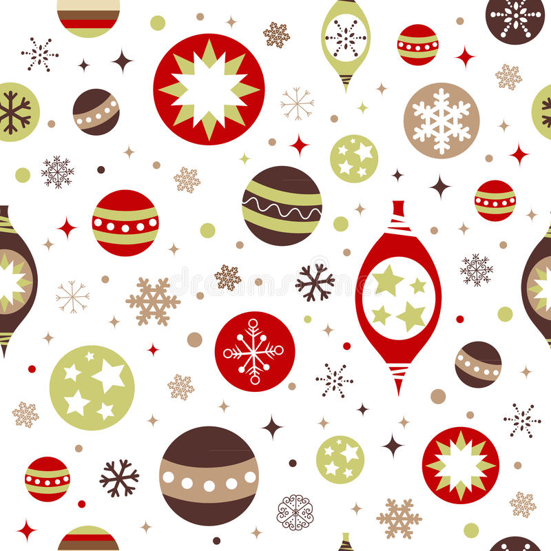 Download Beautiful Design Christmas Seamless Pattern Royalty Free Stock Photography - Image: 22299527