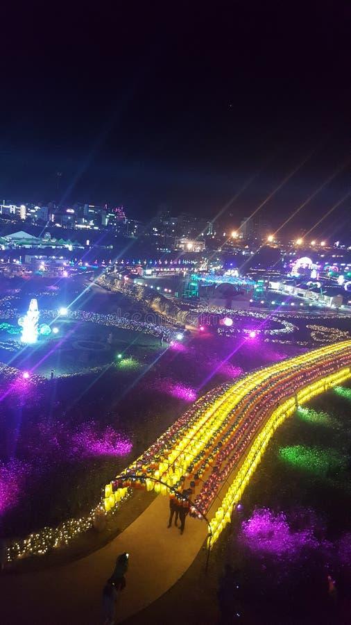 Beautiful scene gongju royalty free stock photography